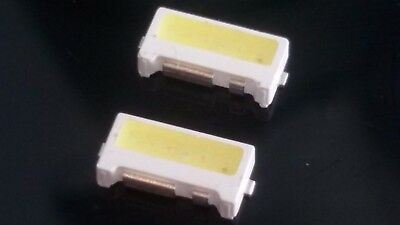2 led Samsung tv UE32ES6100 7032 6v bianco freddo repair white light strip 7x3,2