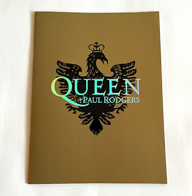 QUEEN + PAUL RODGERS JAPAN TOUR 2005 CONCERT PROGRAM BOOK Brian May Roger Taylor