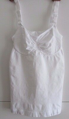 Vercella Vita Strong Control Push Up Camisole. White. Large. New.
