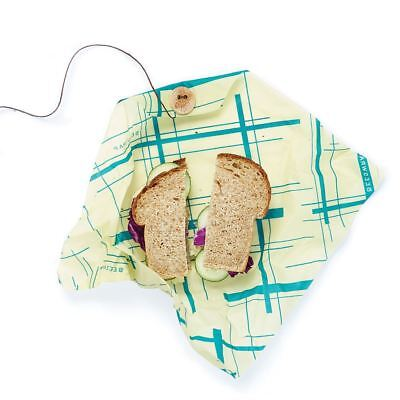 Bees Wrap Sandwich Wrap - Sustainable/Reusable Food Wrap - 33cm Geometric Design