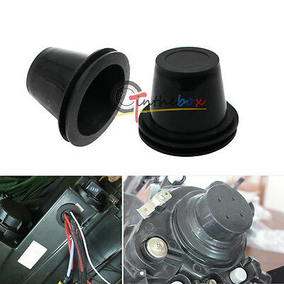 55mm Rubber Housing Seal Caps For Headlight Install HID Conversion Kit, Retrofit