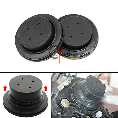 100mm Rubber Housing Seal Caps For Headlight Install HID Conversion Kit Retrofit