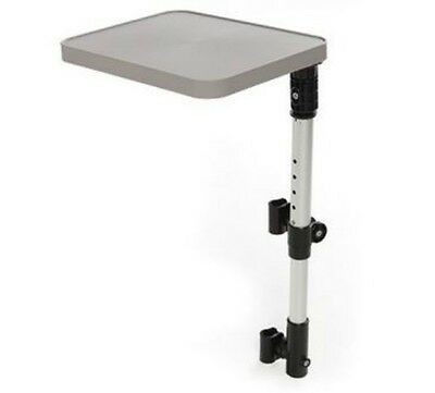 Brand New Top Quality Swivel Wheelchair Adjustable Side Table Tray