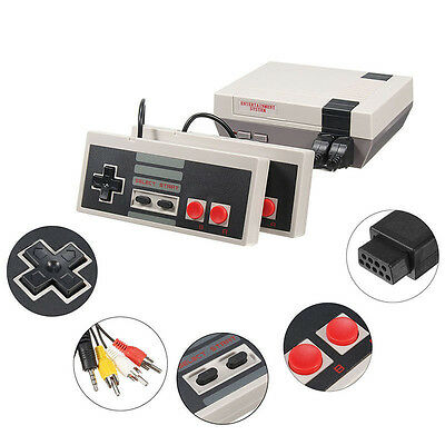 Mini Vintage Retro Console Classic 500 Built-in Games 2 Controllers Durable New