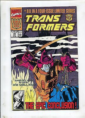 Transformers #80 (8.5) End Of The Road--Low Print Run!