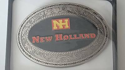 New Holland   Western Style Collectible Die-Cast Belt Buckle Spec-Cast New 2016