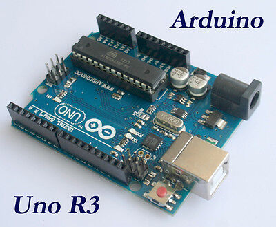 Official Arduino UNO Rev3 R3 328 ATMEGA328P Board with Free USB Cable New
