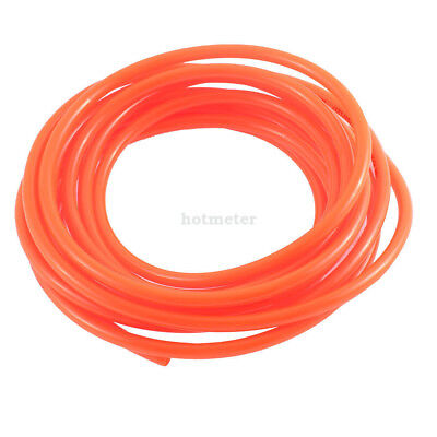 4 Meter 6mm x 4mm Polyurethane PU Air Hose Tubing Orange Red