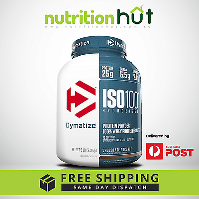 DYMATIZE ISO 100 || 2.3kg 5lb || WPI HYDROLIZED WHEY PROTEIN ISOLATE FREE SHIP
