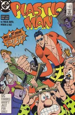 Plastic Man (1988 series) #1 in Near Mint - condition. FREE bag/board