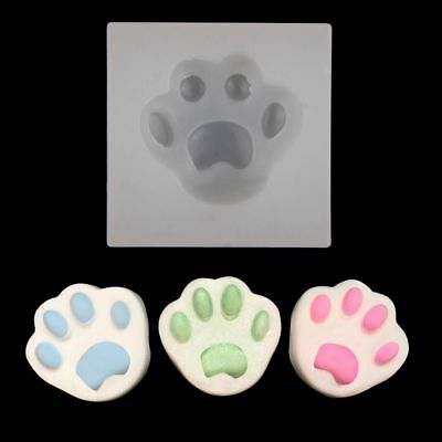 DIY-Silicone Cat Paw Mold Making Jewelry Pendant Resin Casting Mould Craft Tool