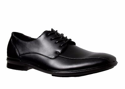 Mens Grosby Oliver Black Dress Work Casual Formal Men's Lace Up Lace Up Shoes