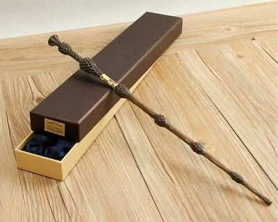 Harry Potter Albus Dumbledore Metal Core Deluxe COSPLAY Magic Wand with Gift Box