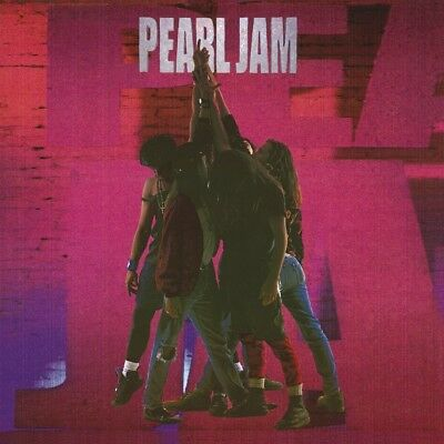 Pearl Jam - Ten   Vinyl Lp New+