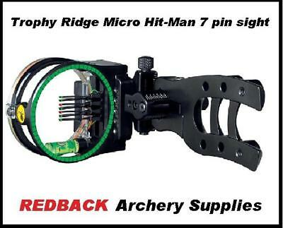Trophy Ridge Micro Hit-Man 7 pin sight for compound bow hunting archery