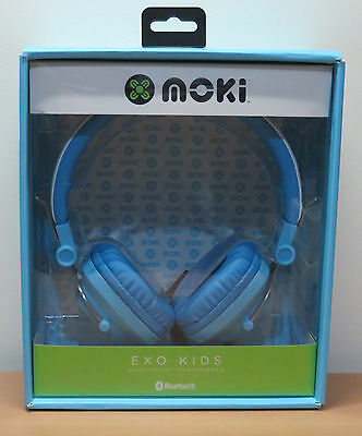 Blue earbuds for boys - kid headphones for boys foldable