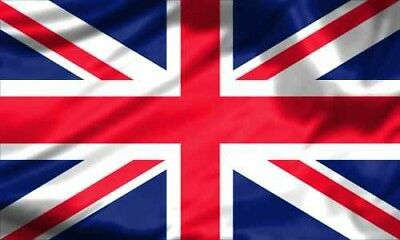 UNION JACK 8 X 5ft FLAG AND FUNERAL COFFIN DRAPE, UK GREAT BRITAIN BRITISH FLAG