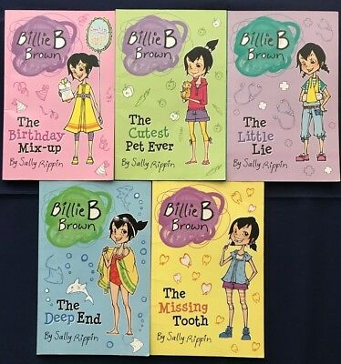 Billie B Brown 5 Book Collection by Sally Rippin (Paperback, 2012)