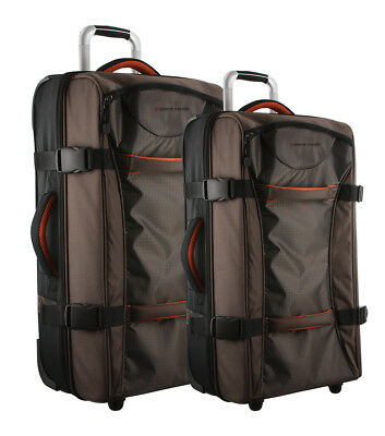 NEW Pierre Cardin Soft Luggage Trolley Case SET OF 2 (PC2465)