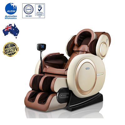 Massage Chair Zero Gravity, 3D massage, Head airbag, Heat, Vibrations and Music