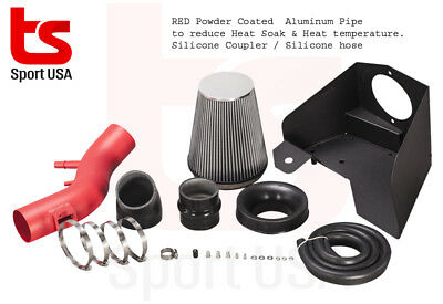 """AFD Air Filter intake System 3.5/"""" Pipe Heat Shield for 09-14 Acura TSX 2.4L 2.4"""