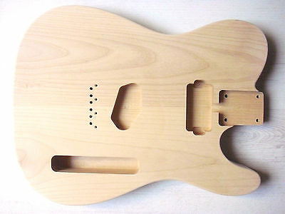 göldo Tele Body US Alder unpainted with Humbucker-milling