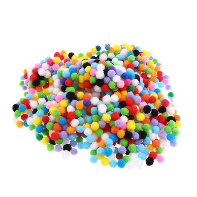 100/500/1000pcs Many Size Felt Balls Pompom Ball for DIY Craft Decoration Sewing