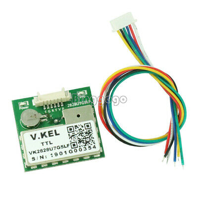 GPS Module with Antenna TTL 1-10Hz with FLASH Flight Control Model VK2828U7G5LF