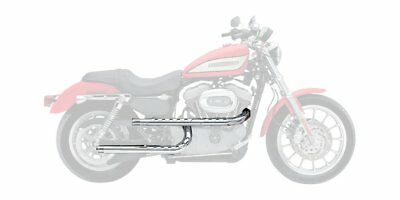 Supertrapp Three Shield Exhaust X Pipes Chrome For Harley-Davidson XL
