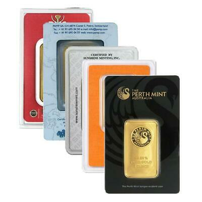1 oz Gold Bar | Sealed in Assay | Direct from Mint