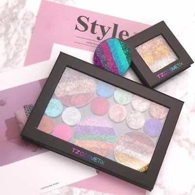 Pro Empty Magnetic Makeup Palette Black Eyeshadow Cosmetic Storage Charm UK