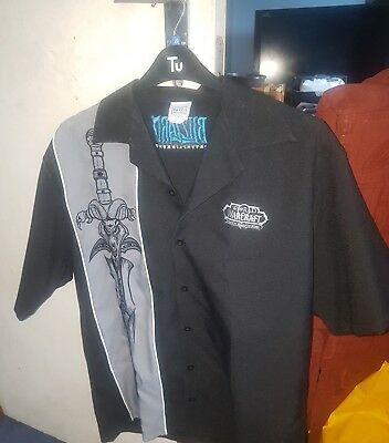 Blizzard, World of warcraft bowling shirt Size M Wear it to blizzcon