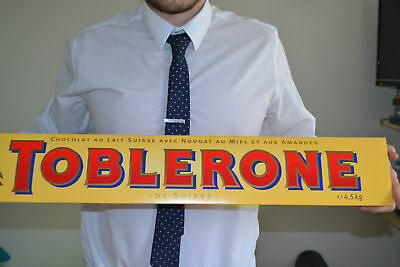 Giant 4.5 Kg Toblerone Chocolate Bar, Ideal Gift/Christmas Present