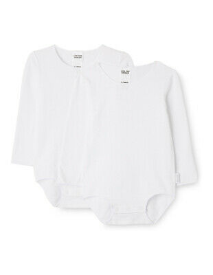 NEW Bonds Wondersuit Long Sleeve 2PK White