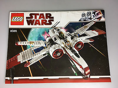 lego bauanleitung star wars 4478 geonosian fighter ungelocht instructions 1 eur 5 90. Black Bedroom Furniture Sets. Home Design Ideas