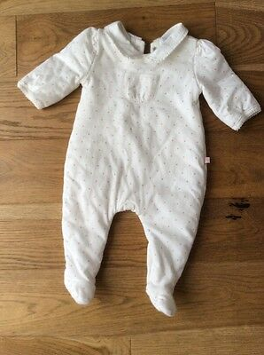 Baby GAP Gir All In One Sleepsuit 0-3 Months