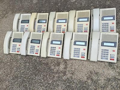 10-Pack Used Nortel Norstar M7100 Phone Ash / Beige NT8B14