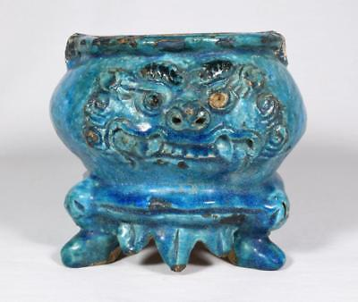 Chinese Ming Dynasty Pottery Censer Bowl c1600 Wanli Period