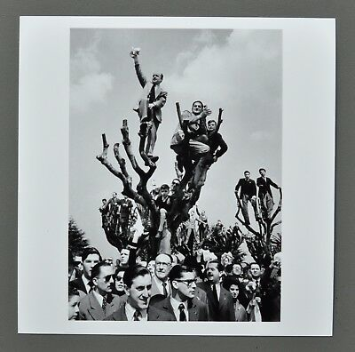 Cornell Capa Magnum Archival Photo Print 15x15 Buenos Aires 1955 Estate Stamped