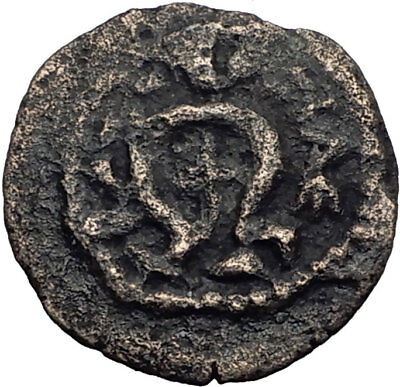 HEROD I the GREAT 40BC Jerusalem Authentic Ancient BIBLICAL Greek Coin i64113