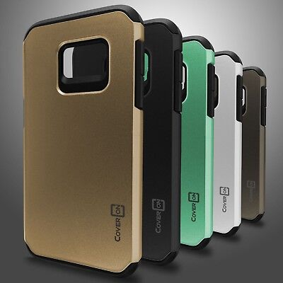 Slim Hybrid Armor Tough Protective Phone Cover Case for Samsung Galaxy S7
