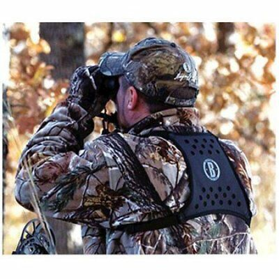Bushnell 19125C Deluxe Bino Harness, Black W