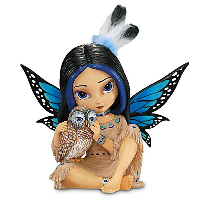 Hamilton Collection Jasmine Becket-Griffith Mystical Fairy With Owl Nightsmind