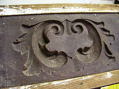 ANTIQUE WOOD GESSO FURNITURE MOLD AMERICAN 19th CENTURY INTERIOR DECORATE