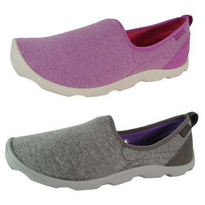 Crocs Womens Duet Busy Day Heather Skimmer Shoes