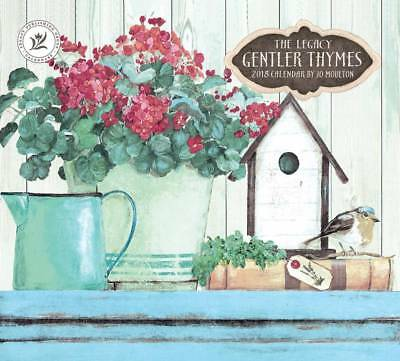 NEW Gentler Thymes Jo Moulton 2018 Legacy Calendar Well Packed Free Postage