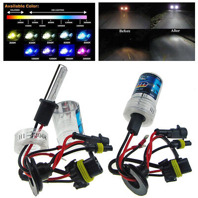 55W Xenon HID Headlight Bulbs Replacement H1 H3 H7 H8 H10 H11 9005 9006 880/881
