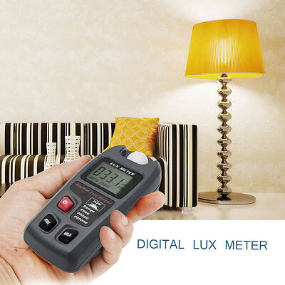 New Digital Lux Meter Photometer Tester w/ LCD Display Measuring Light Tester //