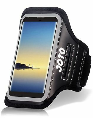 Samsung Galaxy Note 8 Armband Case JOTO Sports Exercise Runner Armband Case w...