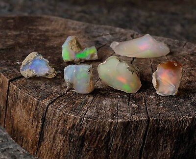 5g Small A Grade Raw OPAL Natural Stones Crystal Welo Opal Rough Jewelry Making